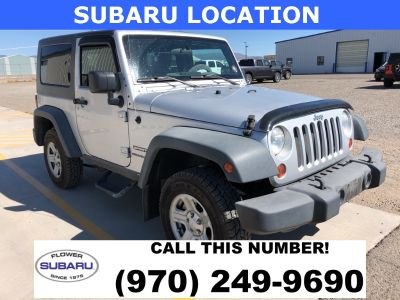 2010 Jeep Wrangler Sport (Bright Silver Metallic Clearcoat/Black H)