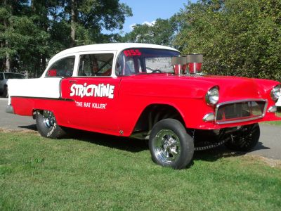 1955 Chevy Gasser Former Cover of Car Craft Magazine