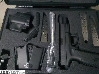 For Sale: FS: OFF ROSTER: LAST ONE - Springfield XDM 40 5.25 COMPETITION SERIES .40SW + EXTRAS