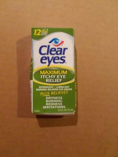 Clear eyes drops- new