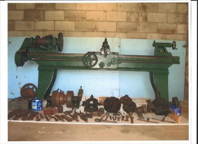 Vintage South Bend Metal Lathe
