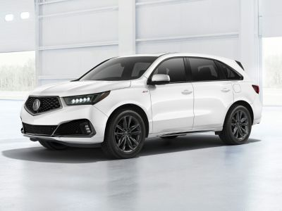 2019 Acura MDX 3.5L Advance Pkg w/Entertainme (Lunar Silver Metallic)