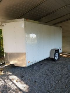 haulmark 6x12 enclosed trailer