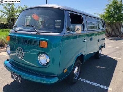 1976 Type 2 Westfalia Bay Window Camper Bus