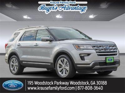 2019 Ford Explorer Limited (Ingot Silver)