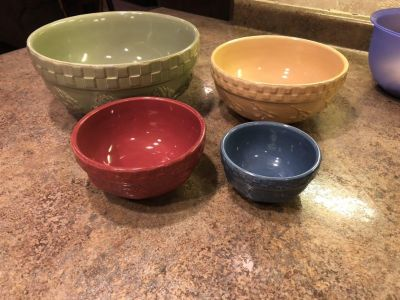 Set of 4 bowls Home Grown Signature