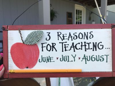 Wooden Sign - cute!