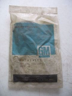 Sell NEW NOS GM Rack and Pinion Seal Kit 1981-84 GM Car Part # 7839157 motorcycle in Statham, Georgia, United States, for US $10.00