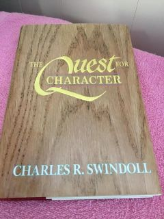 NEW! THE QUEST FOR CHARACTER - SWINDOLL