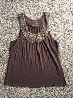 Old Navy beaded tank