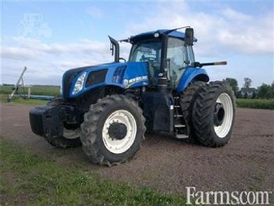 2015 New Holland T8 350 Tractor for sale in Colby, WI.