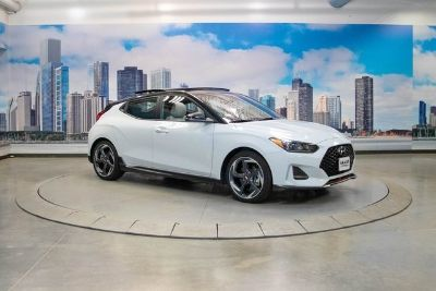 2019 Hyundai Veloster Turbo Ultimate (Chalk White w/Black Roof)