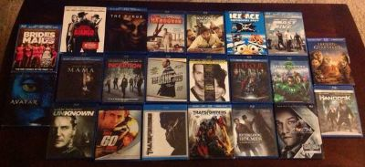 22 Blu-Ray Discs in MINT Condition Bundled or Seperately