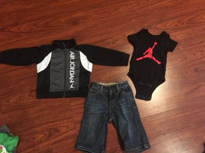 Jordan Outfit - Size 3-6 month - good condition!