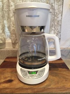Black and Decker Programmable 12 Cup Coffee Maker
