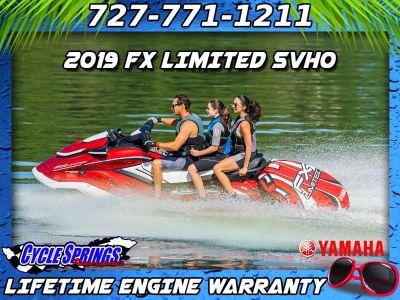 2019 Yamaha FX Limited SVHO 3 Person Watercraft Clearwater, FL
