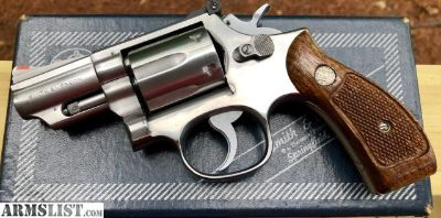 For Sale: Smith and Wesson Model 66-1 Pinned & Recessed .357 Mag Snub Nose