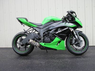 2011 Kawasaki Ninja ZX -6R SuperSport Motorcycles Guilderland, NY