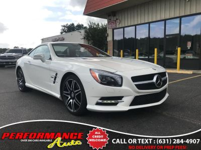 2015 Mercedes-Benz SL-Class 2dr Roadster SL 550 (designo Diamond White Metallic)