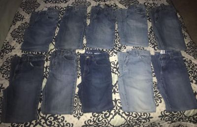 10 pair of boys size 12 jeans from Children s Place