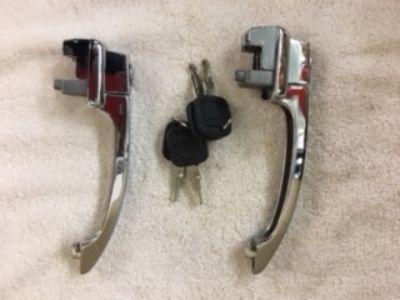 1964 Aftermarket Door Handles / with keys