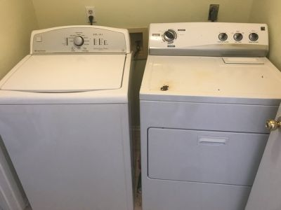Kenmore electric washer and dryer together