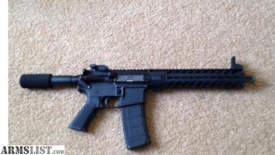 "For Sale: AR-15 pistol 10.5"""