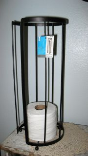 Oil-Rubbed Bronze Finish Reserve Toilet Paper Stamd~NEW