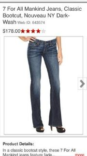 7 jeans from Macys