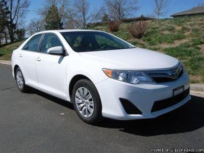 Buy Now! 2012 Toyota Camry Sedan