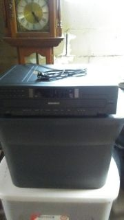 6 disc cd player (hooks to a stero. )
