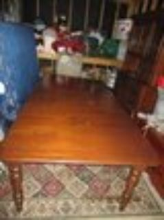 High End Solid Cherry Dining Table & Chairs