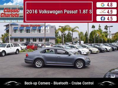 2016 Volkswagen Passat S PZEV (Platinum Gray Metallic)