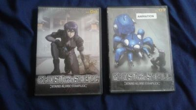 Ghost In The Shell: Stand Alone Complex Vol. 4 & 7 DVD'S (Manga Video/Bandai Entertainment, 2000s)
