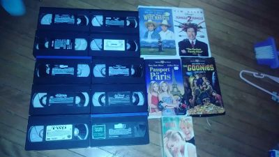 14 (no more it takes two) kids vhs lot most no cases all for 2.00