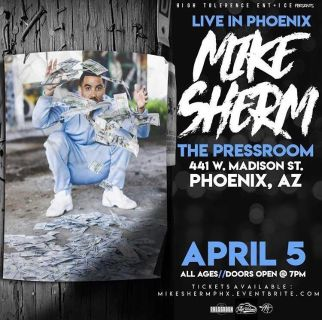 Mike Sherm show tickets