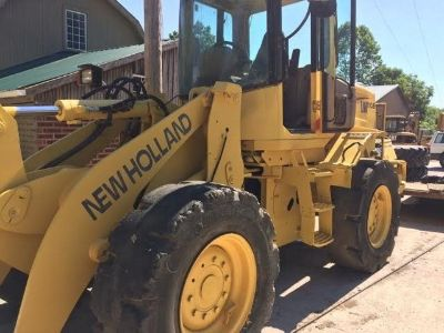 2004 New Holland Wheel Loader  LW110B Low Hours; Low Reserve