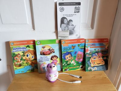 LeapFrog Tag Junior Book Pal w/ books