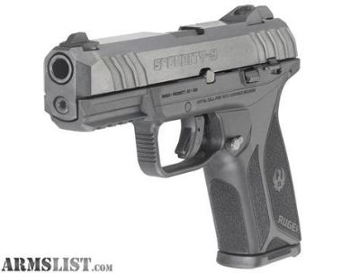 For Sale: $266 - BRAND NEW RUGER SECURITY-9 SEMI-AUTO 15 ROUND 9MM PISTOL