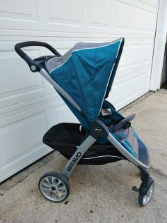 Chicco Bravo Stroller with Infant Seat Adapter