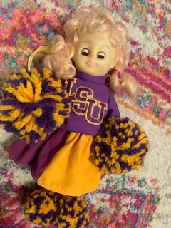 Vintage Gambina LSU Cheerleader doll