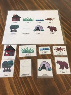 We re Going on a Bear Hunt- book extension