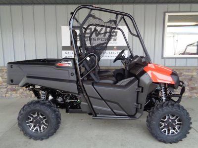 2019 Honda Pioneer 700 Deluxe Side x Side Utility Vehicles Delano, MN