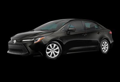 2020 Toyota Corolla LE (Black Sand Pearl)