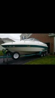 1998 Glastron GS 229 Boat and Trailer