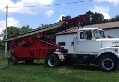 1958 Bucyrus-Erie 60-Drilling-Rig