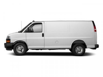 2018 Chevrolet Express Cargo Van (Summit White)