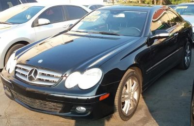 2007 Mercedes-Benz CLK-Class CLK350 (Black)