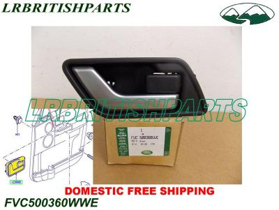 Buy LAND ROVER HANDLE REAR DOOR RANGE ROVER SPORT RIGHT SIDE OEM NEW FVC500360WWE motorcycle in Miami, Florida, US, for US $39.00