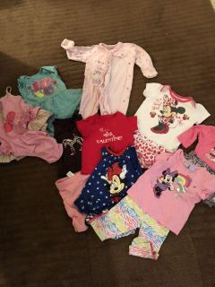 6-9 Month Girls Clothing Lot